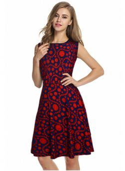 Womens And Girls Us Polo (Imported) Red Western One Pieces